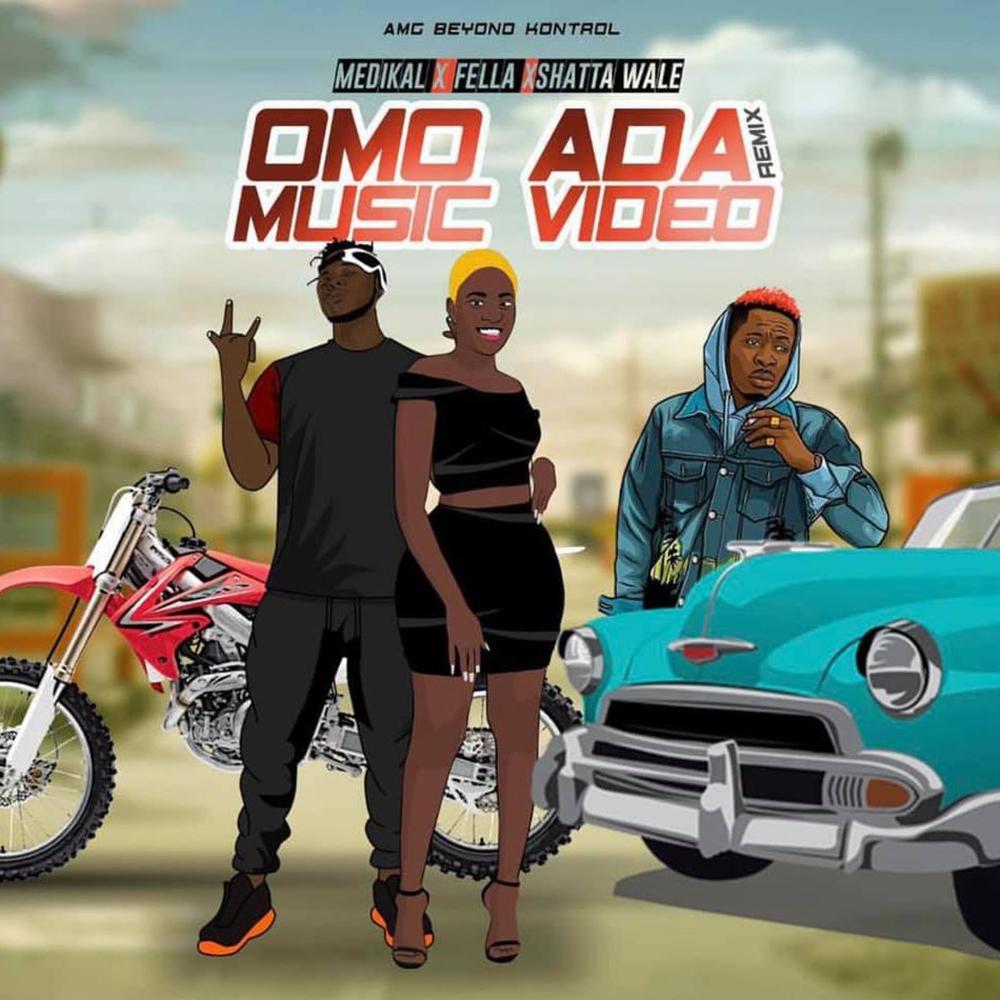 Omo Ada (Remix) by Medikal feat. Shatta Wale & Fella