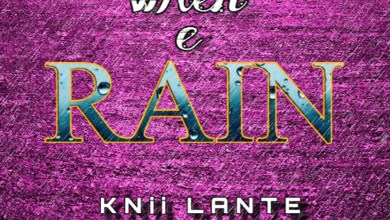 Photo of Audio: When e Rain by Knii Lante
