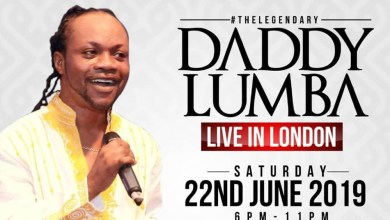 Photo of Daddy Lumba braces up for London concert
