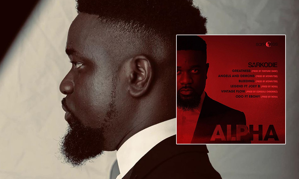 Sarkodie employs next generation producers on ALPHA