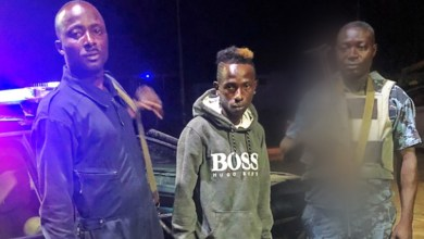 Photo of Patapaa thanks Ghana Police for timely recsue