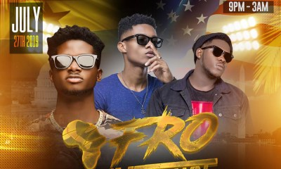 KiDi; Kuami Eugene; Medikal ready for Afro Shutdown