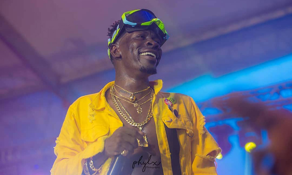 Shatta Wale books October 19 for part 2 of Reign Concert