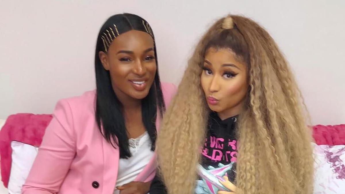 Can't wait to have Nana Fofie on my label - Nicki Minaj
