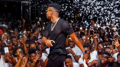 KiDi and Fameye jam up Black & White Affair in Italy