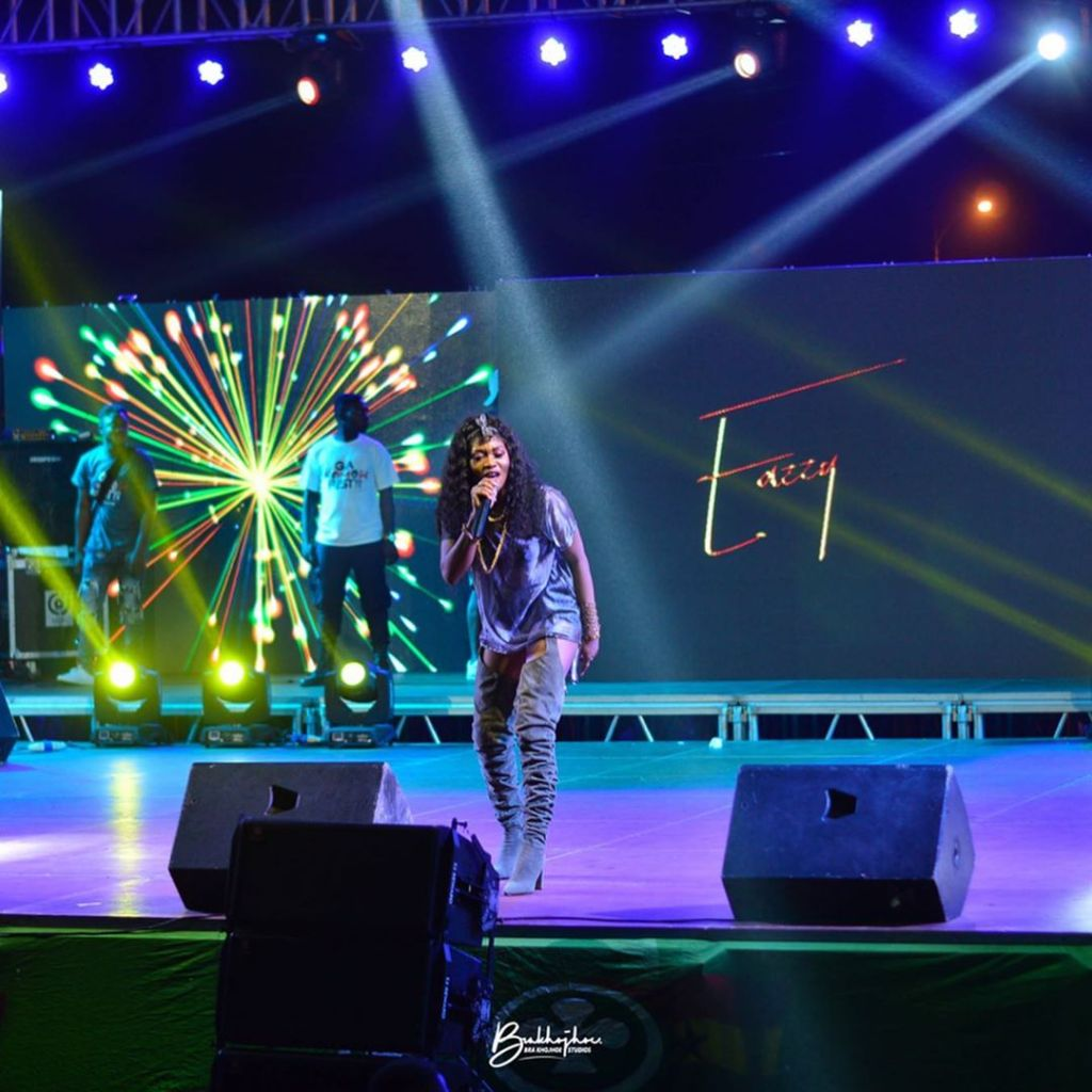 Eazzy lights up 2019 Ga Homowo Fest