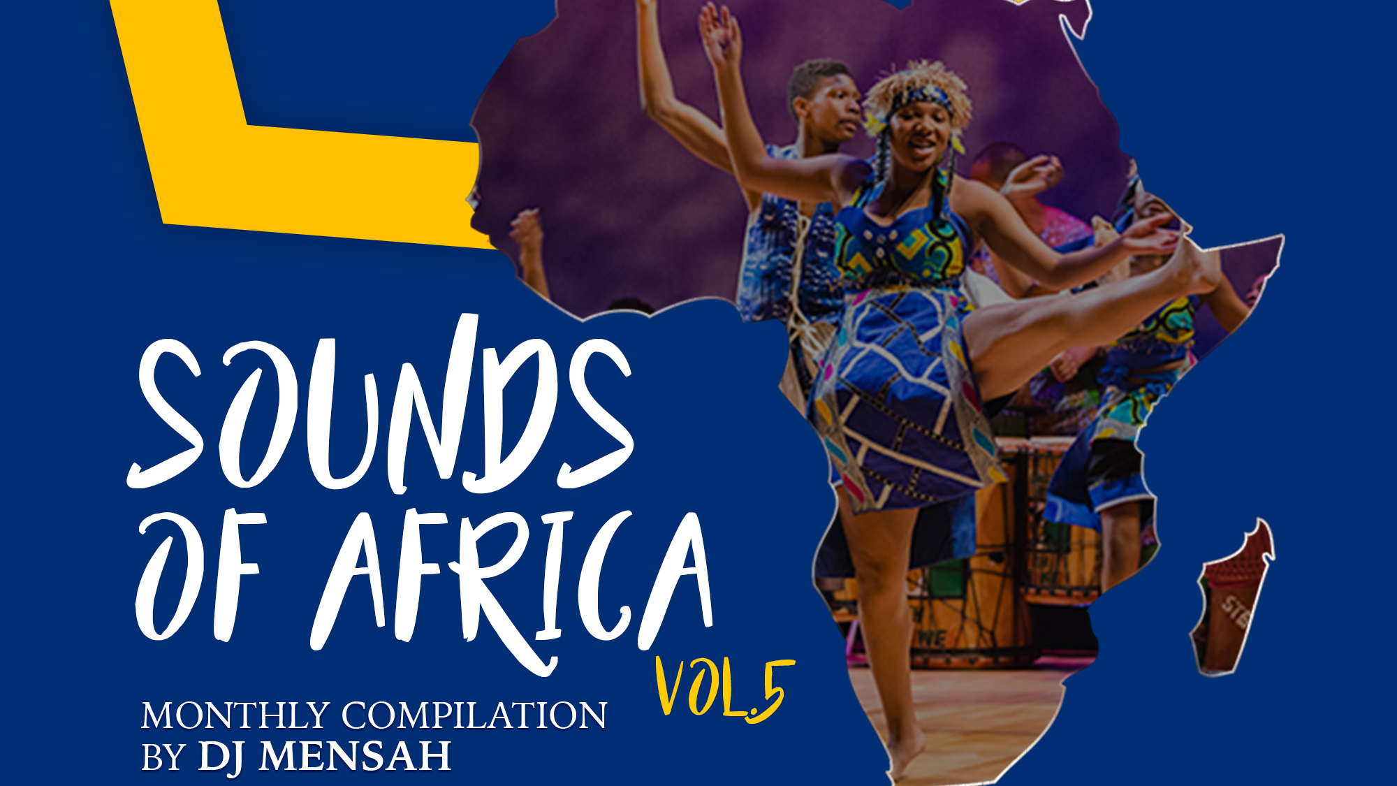 Dj Mensah out with monthly Sounds of Africa Vol.5 playlist