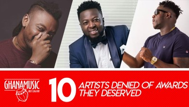 Photo of List of Top 10 deserving artistes denied of awards