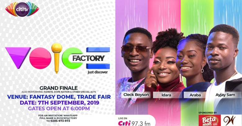 Photo of Grand finale of Citi TV's Voice Factory is this Saturday, Fantasy Dome