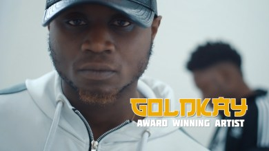Goldkay hosts Guiltybeatz in visuals for; Bluffin Remix