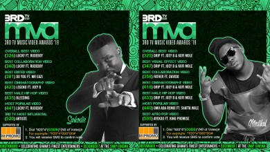 Photo of Sarkodie & Medikal lead nominations for 3RD TV Music Video Awards '19