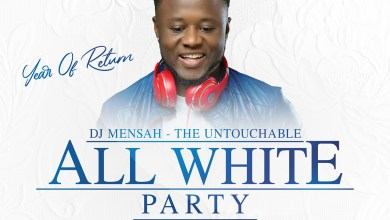 DJ Mensah's All White Party is on Friday 8th November