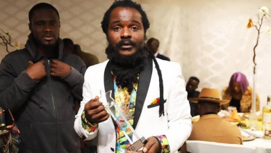 Photo of Ras Kuuku honoured in New York by 3G Awards for Excellence in Reggae Music