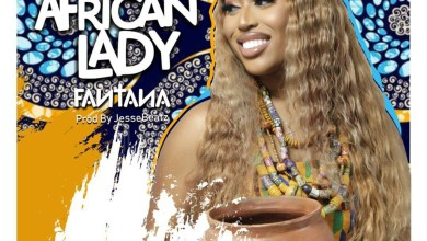 New African Lady by Fantana