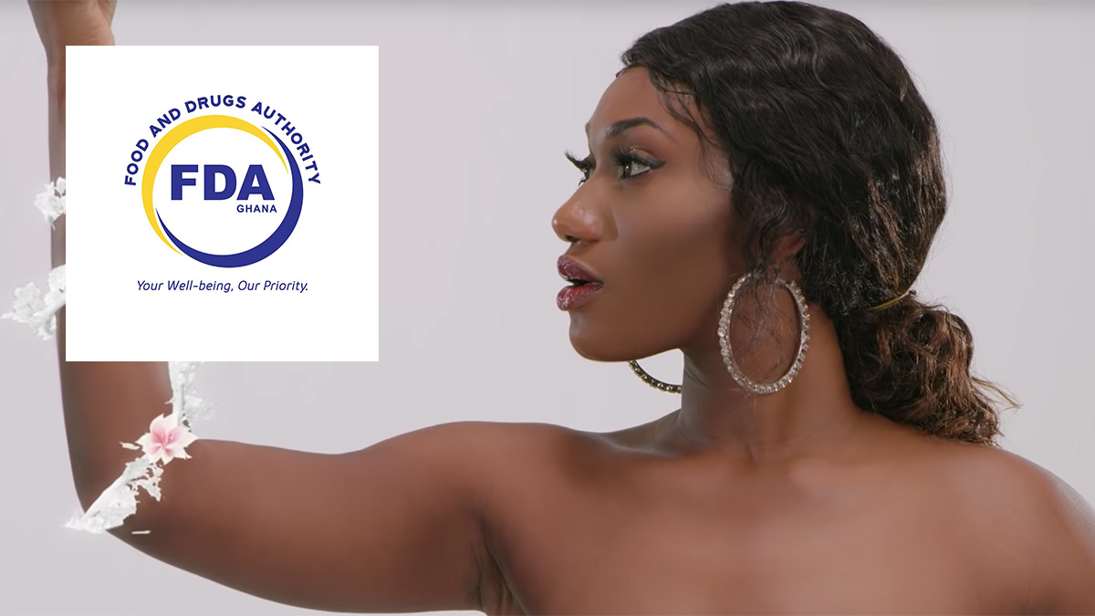"FDA replies Wendy Shay over ""small food we go chop"" post"