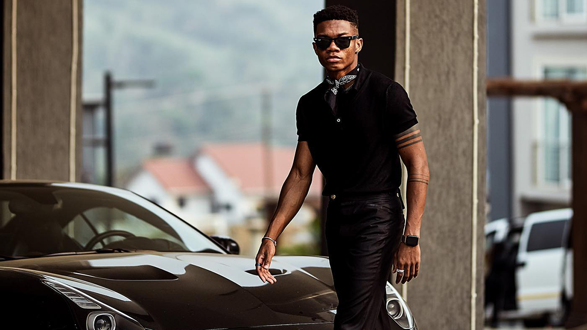 See KiDi's latest drip as he hangs out with Joselyn Dumas