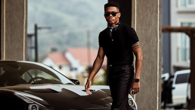 Photo of See KiDi's latest drip as he hangs out with Joselyn Dumas
