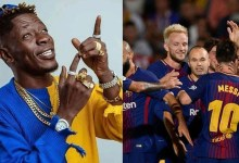 Photo of Major! FC Barcelona enjoy Shatta Wale's Borjor