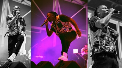 Stonebwoy performing at the Afrocarib Festival in Florida. Photo Credit: Gerrard-Israel/PR