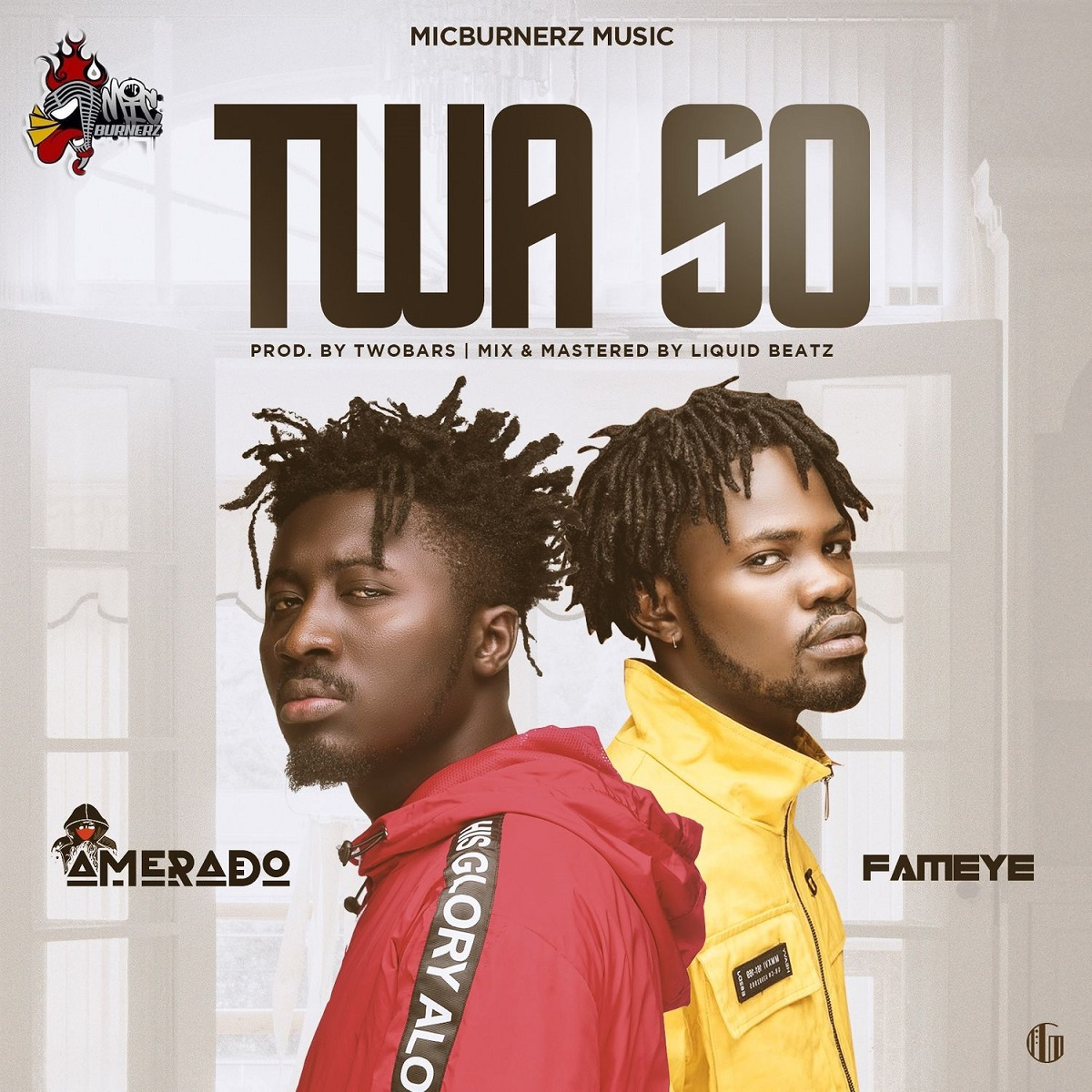 Twa So by Amerado feat. Fameye