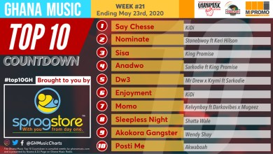 2020 Week 20: Ghana Music Top 10 Countdown