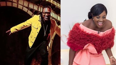 Photo of Emelia Brobbey chooses Prince Bright for; Fa Meko Remix