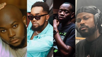 "Photo of Ghanaian talents takeover Patoranking's ""Three"" album"