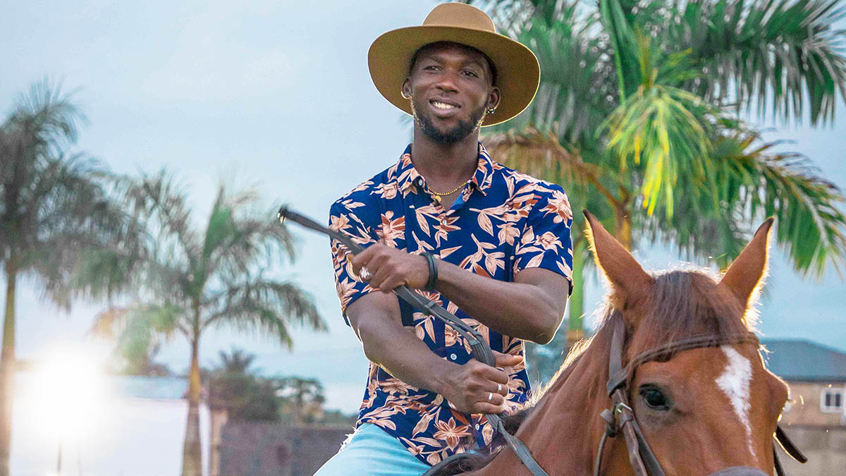 Kweku Greene spotlights African beauty in visuals for; Famous