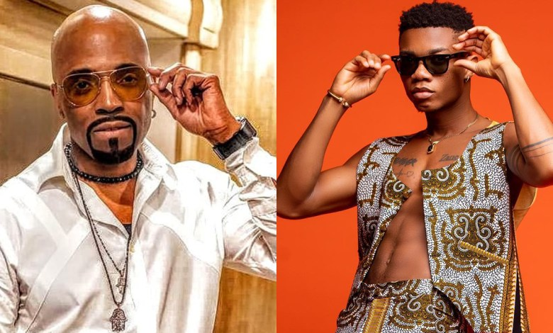 Photo of KiDi records American R&B star Teddy Riley on; Say Cheese Remix