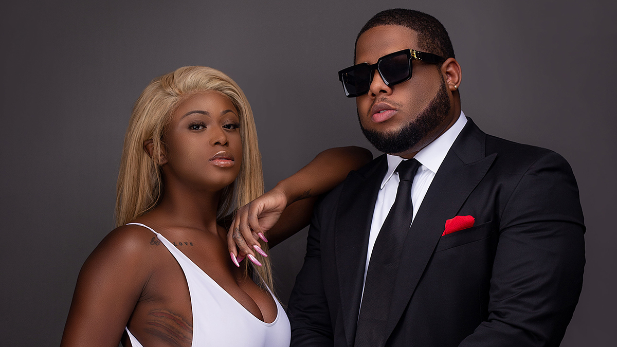 D-Black, Nina Ricchie out with Black & Whyte EP today!