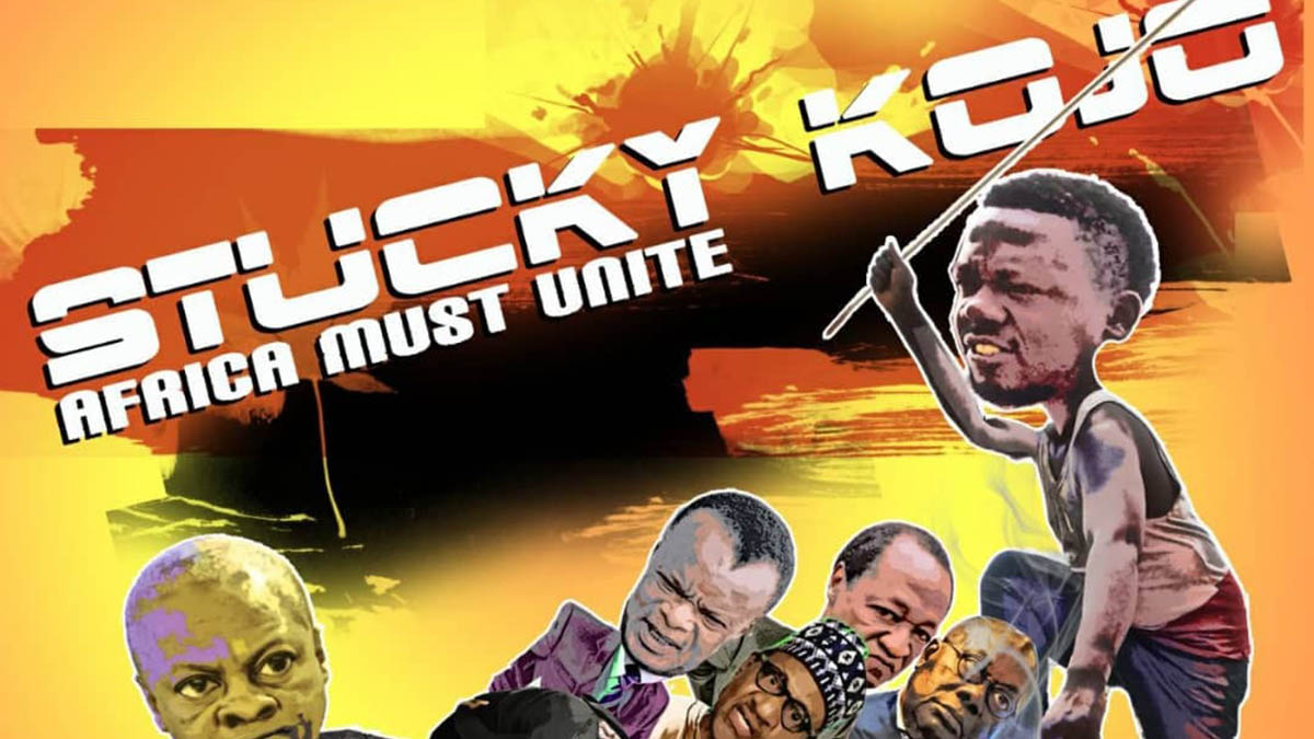 Stucky Kojo dabbles in politics with; Africa Must Unite