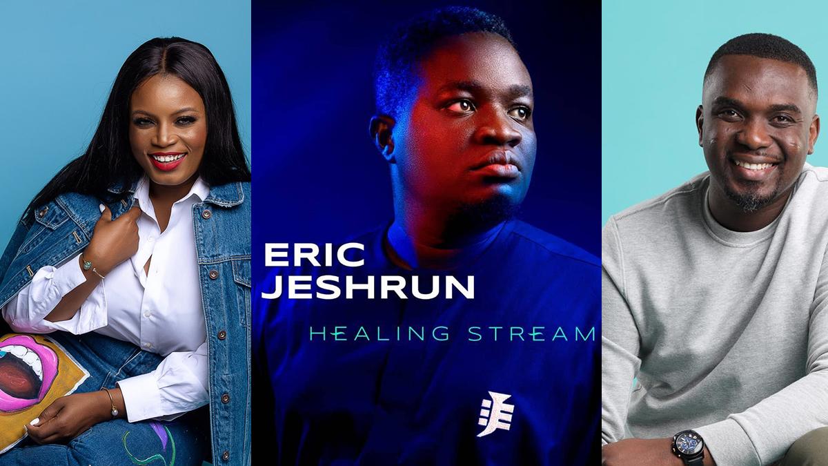 Eric Jeshurun hosts Irene Logan, Joe Mettle, others on new album; Healing Stream