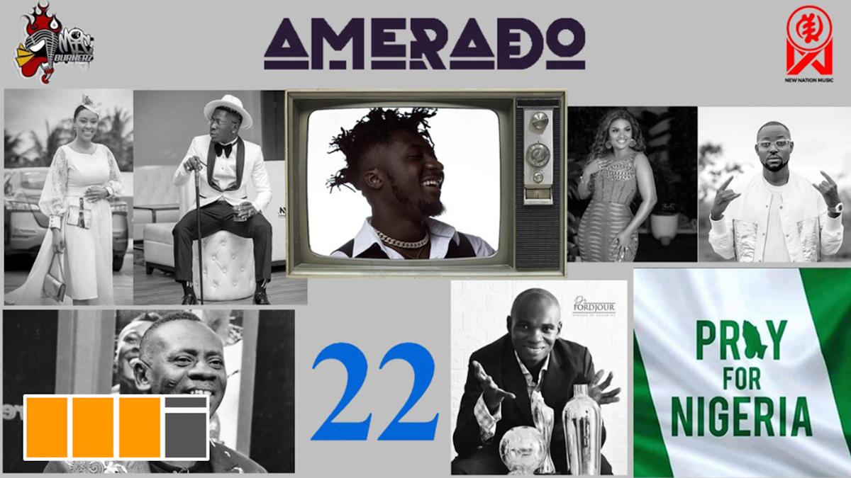 Shatta Wale & DR. UN feat. on Amerado's Yeete Nsem EP. 22