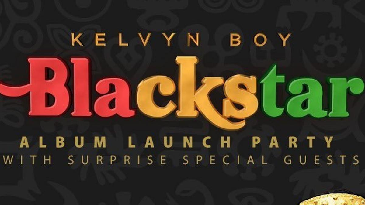 Watch Kelvyn Boy's Blackstar album launch party