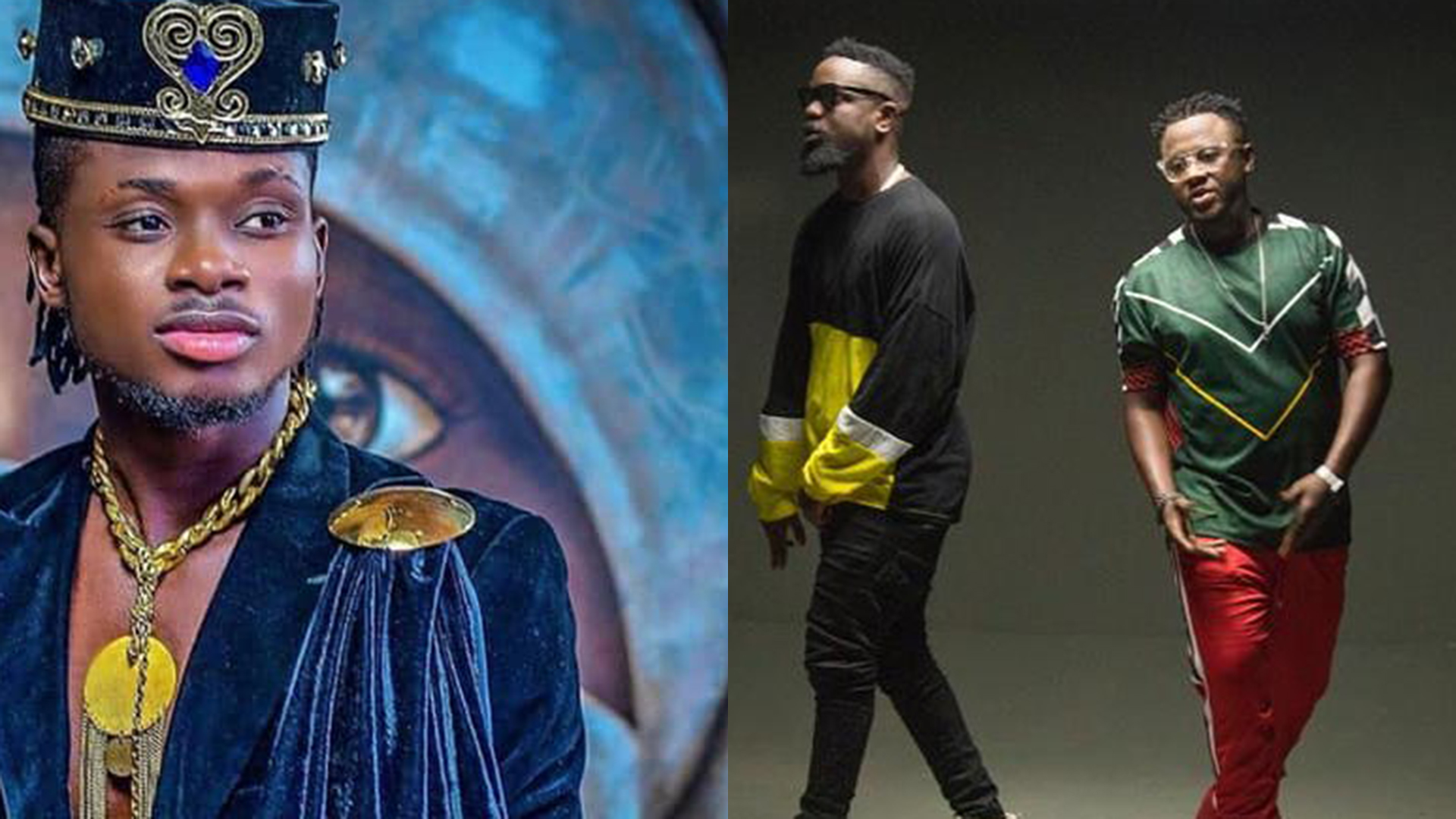 DJ Mensah, Kuami Eugene and Sarkodie jump on a new tune; Beifour
