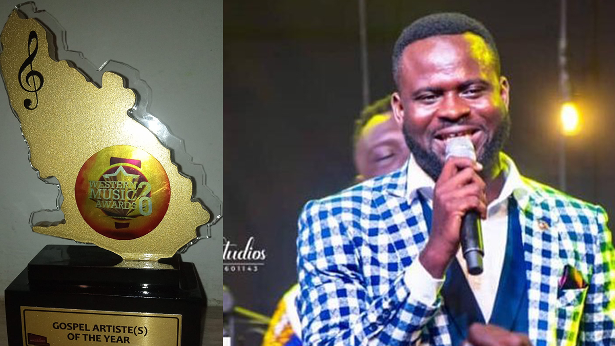 SK Frimpong crowned 2020 WMA Gospel Artiste Of The Year