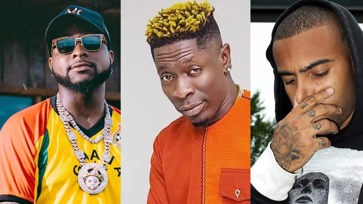 Ghana's Vic Mensa, Shatta Wale, others support Nigeria's Davido, Wizkid, Burnaboy, others on #EndSARS movement