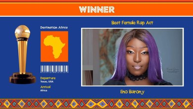 Eno Barony crowned AFRIMMA 2020 Best Female Rap act! See full list of winners
