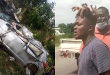 Quamina MP survives ghastly accident!