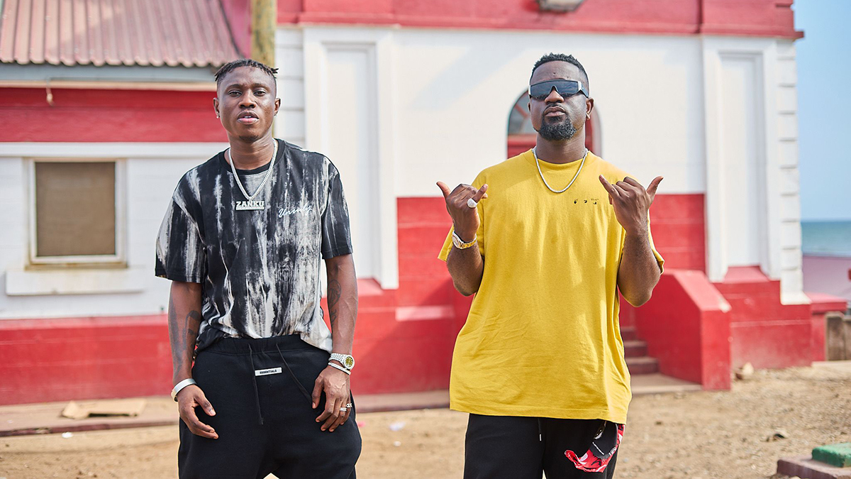 The best of two worlds! Sarkodie teams up with Zlatan on; Hasta La Vista