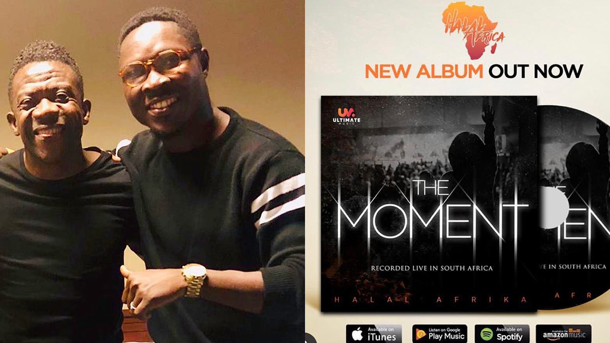 Akesse Brempong featured in 2 songs off Halal Afrika's newly released album; The Moment