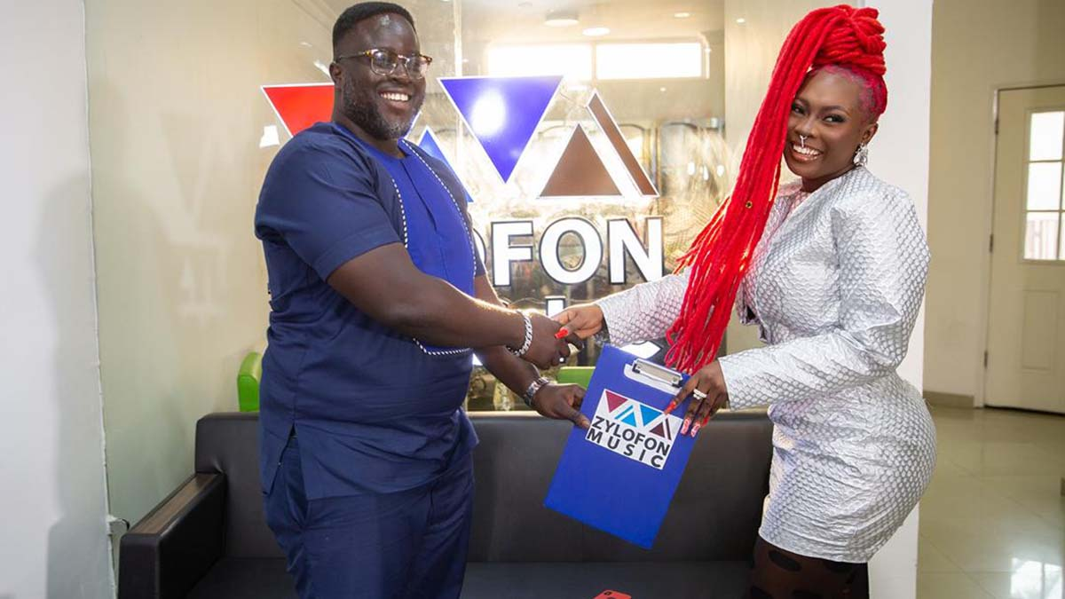 Zylofon Music signs on another act!