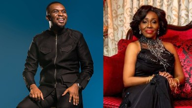 Konadu Agyeman Rawlings finds consolation in Joe Mettle's ministration at late husbands' funeral