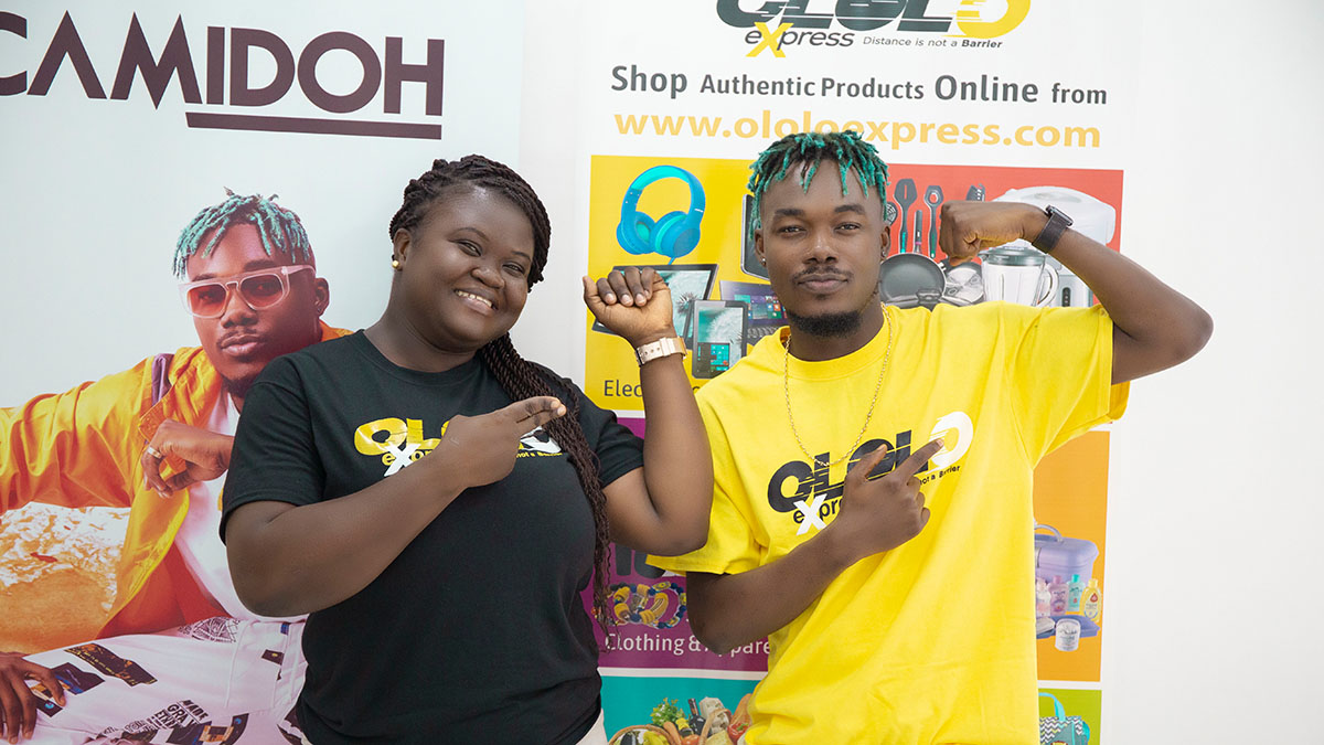 Camidoh clocks brand ambassadorial deal with Ololo Express