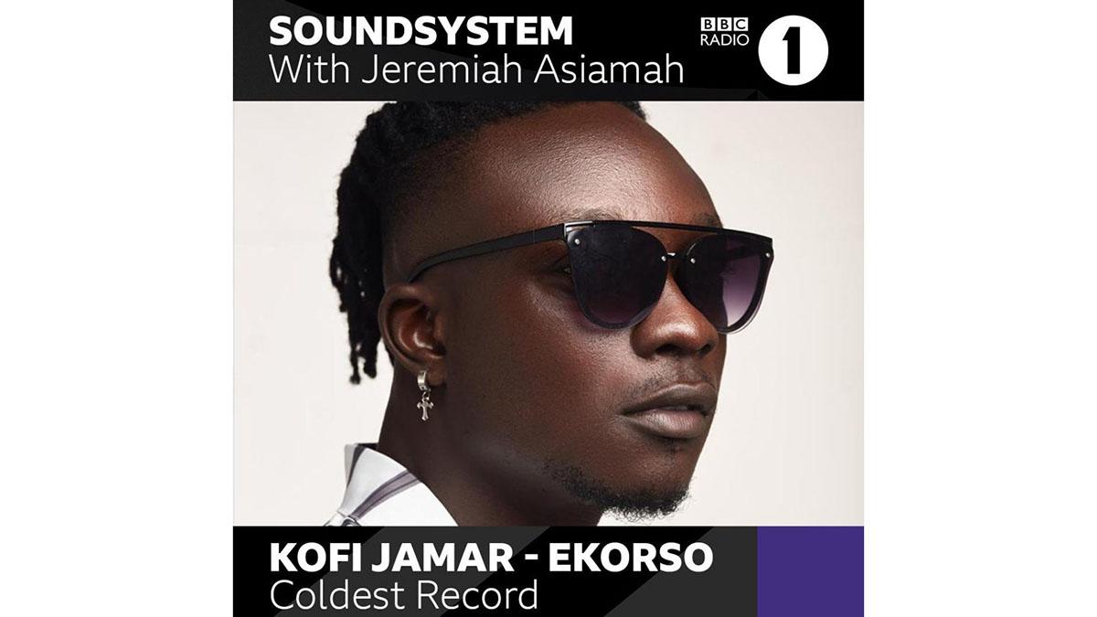 Ekorso! Kofi Jamar's debuts on BBC Radio 1 with hit drill tune