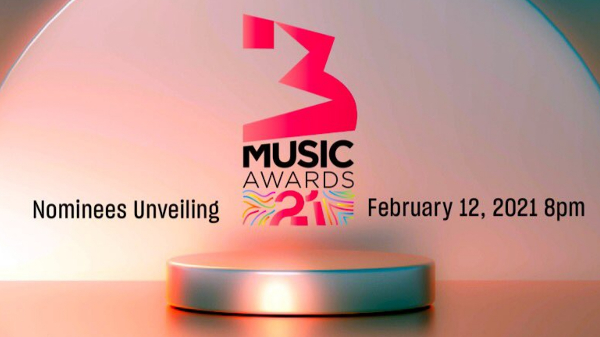 List of nominees for 3 Music Awards 2021
