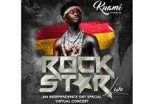Kuami Eugene to own this Saturday with The Rockstar Virtual Concert – An Indepence Day Special!
