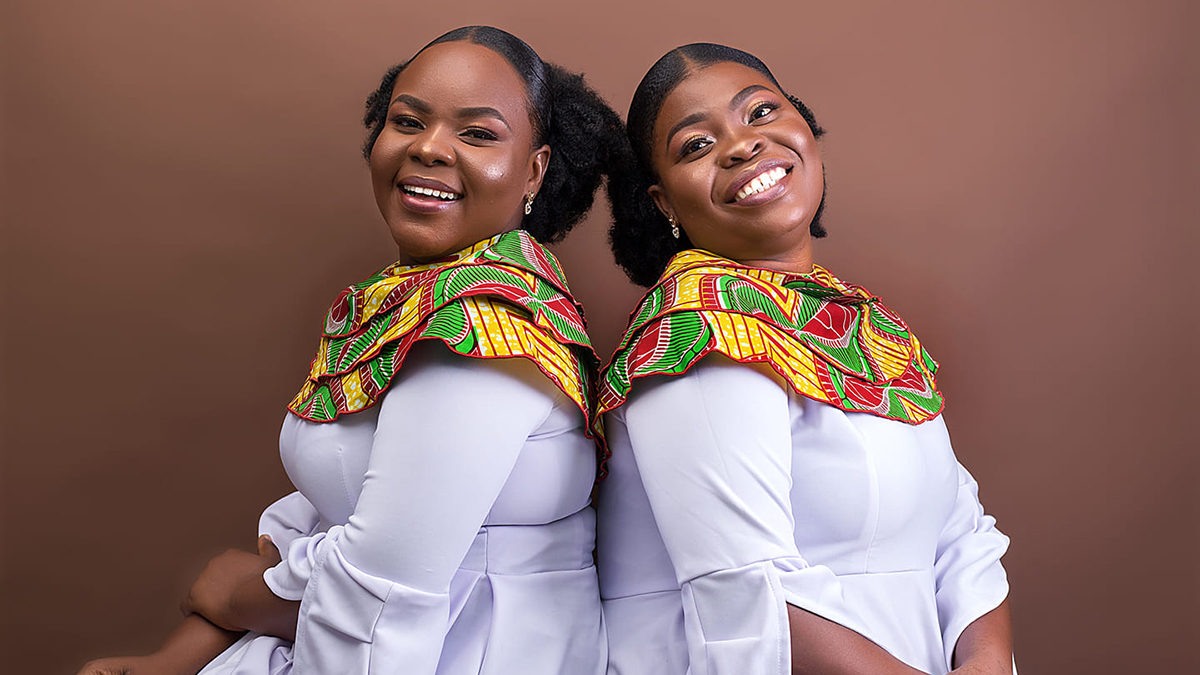 Female duo, M&C debuts unto the gospel music scene with an Easter special; Odo Pa
