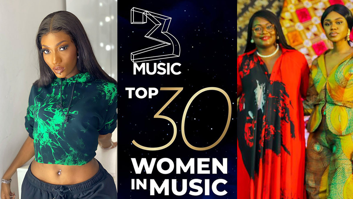 Ayoade, Hamilton, Celestine, Shay, others enlisted in 3 Music Top 30 Women In Music