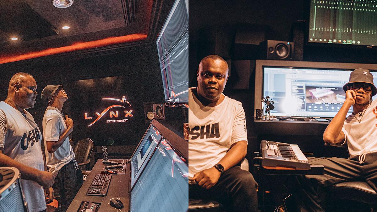 KiDi makes steady Grammy moves as Recording Academy's Bankuli visits Lynx studio
